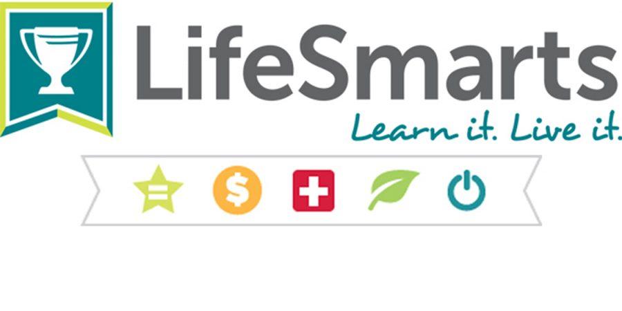 Logo of the LifeSmarts company.