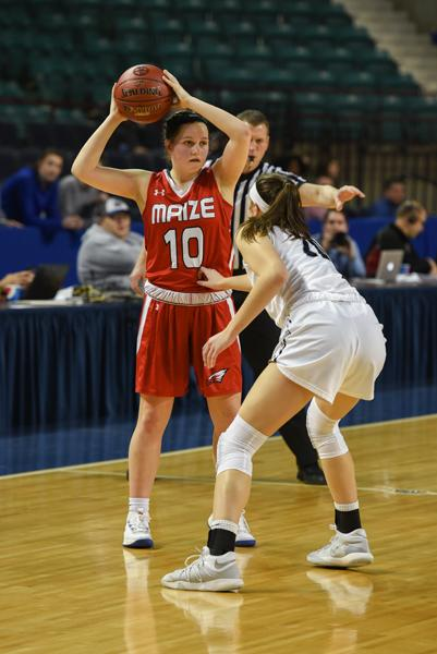 The Eagles defeated Mill Valley 44-37 in the state quarterfinals Thursday.