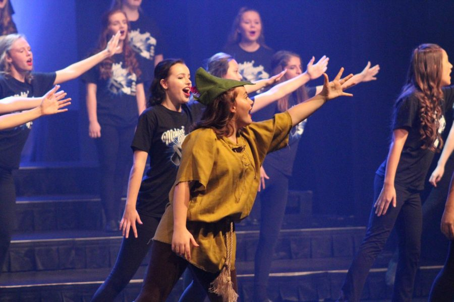 The choir performed their fall show, Makin' Magic, on Oct. 5 and 6.