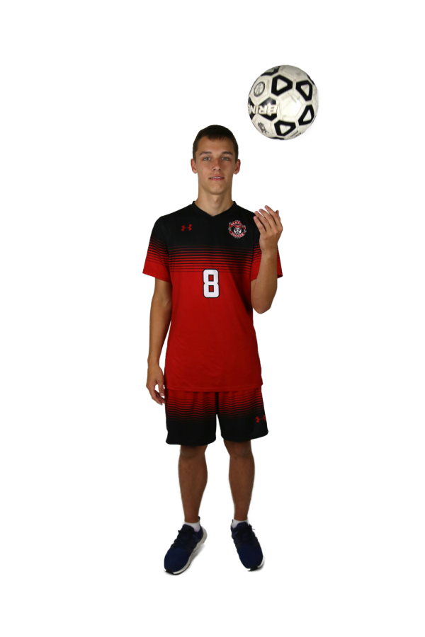 Senior+Devlin+Wolke+plays+soccer+for+the+first+time+this+soccer+season.