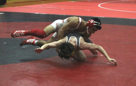 Maize wrestling faced Campus at home on Thursday.
