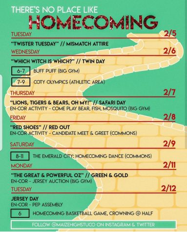 Winter homecoming full of activities