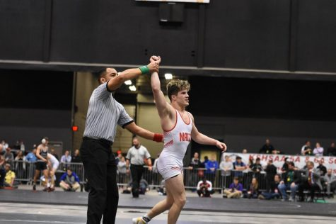 Maize wrestling wins two state championship titles