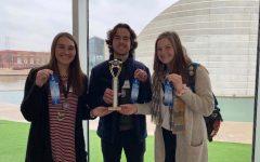 Seniors win regional science fair