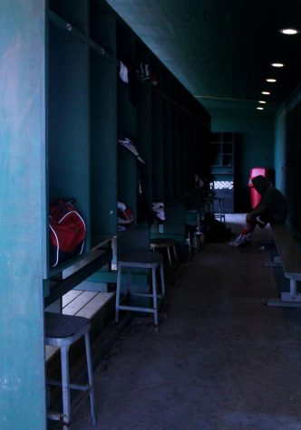 Maize High baseball dugouts were updated this year. The players got new lights, seating, and their own lockers.