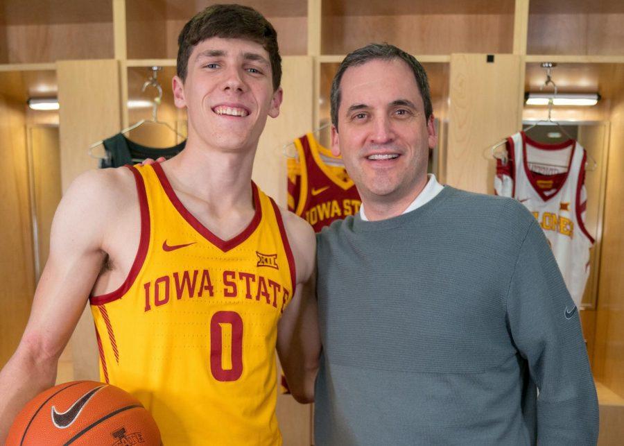 Caleb Grill picks Iowa State