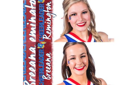 Seniors make KU cheer team