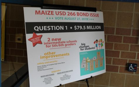 Maize patrons to vote yes on bond