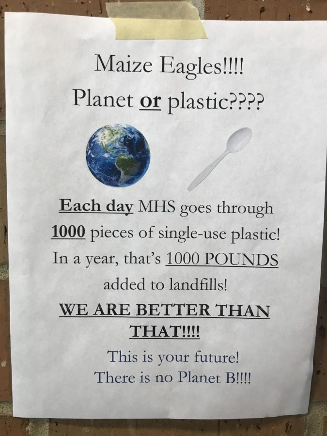 Around+the+cafeteria+flyers+hang+to+remind+students+not+to+throw+away+their+silverware%2C+and+the+impact+they+have+on+the+planet.