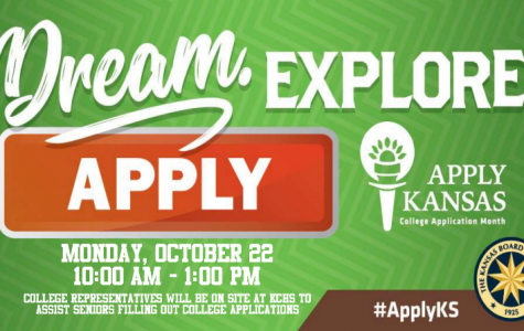 Apply Kansas job helps students apply for college