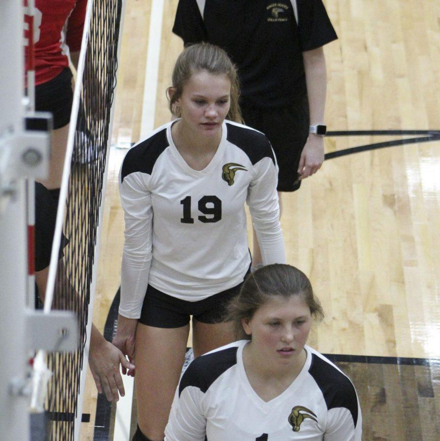 Freshman Avery Lowe has played a significant role for the one-loss Mavericks this volleyball season.