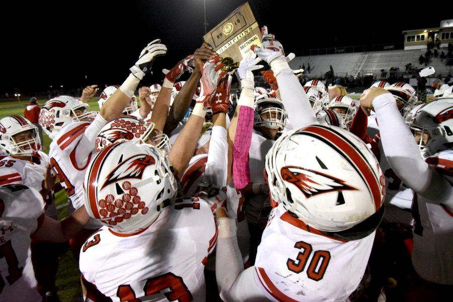 The Eagles picked up the Sectional champion plaque for the second year in a row. The victory sets up a rematch with Wichita Northwest.