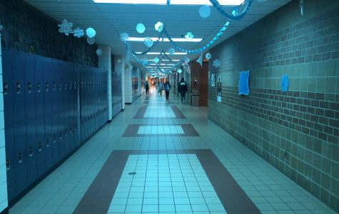 SAFE decorates hallways for the holidays