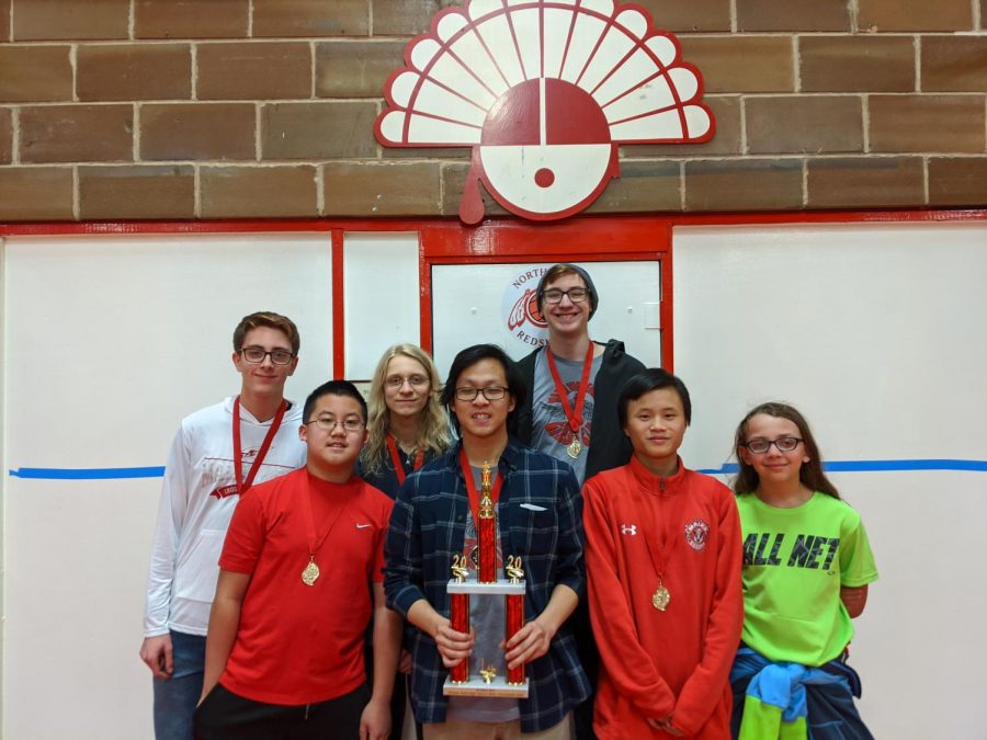 Maize high chess club wins their tournament over the weekend.