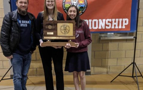 Debate team wins state championship