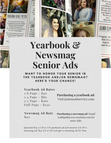 How to purchase a yearbook senior ad