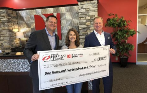 Hannah Soderstrom receives large donation