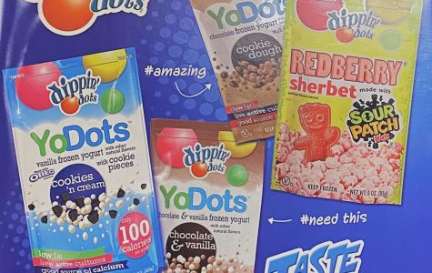Dippin' Dots brought to school store