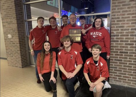 The bowling team wins the regional tournament last weekend and will be advancing onto the State championship.