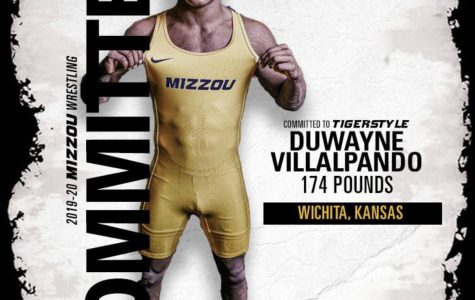 Senior Duwayne Villalpando committs to University of Missouri to further his wrestling career.