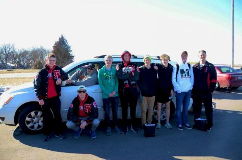 Boys swim takes eighth at state
