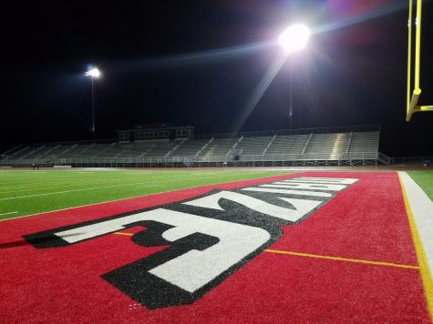 The Maize football stadiums lights will be turned on in recognition of seniors. The lights will turn on at 8:20 and remain active for 20 minutes.