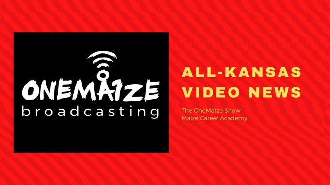 The OneMa1ze show was created in August 2019 and has been awarded over 8 KSPA monthly contest winning awards and several Kansas Association of Broadcasting awards as well.