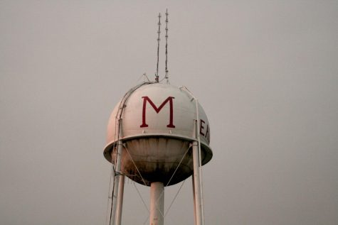 the Maize water tower is to be taken down in the next month.