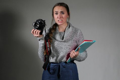 Meredith balances her photography business with schoolwork and extracurriculars.