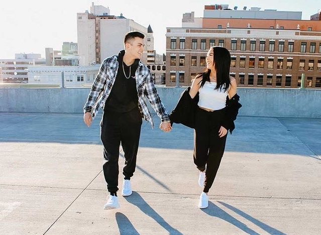 After dating for 20 months, Brandon and Alexus pose roof side in downtown Wichita. When Alexus did graduate in 2020, the pair actually grew closer. It didnt really affect our relationship at all, if anything it was positive because I still got to see her all the time.