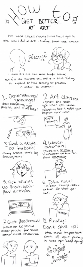 Editorial Cartoon: How to get better at art
