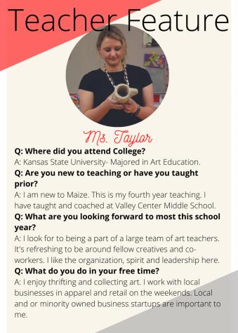 Teacher Feature: Marie Taylor