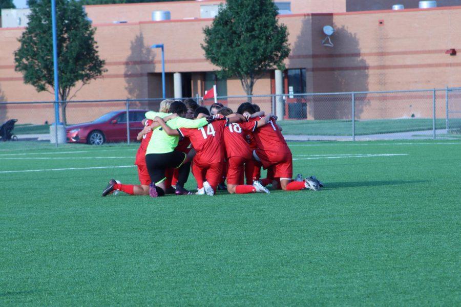 Maize soccer beats Wichita South 12-0