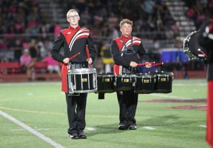 A view from the drumline: Maize High drummer records himself